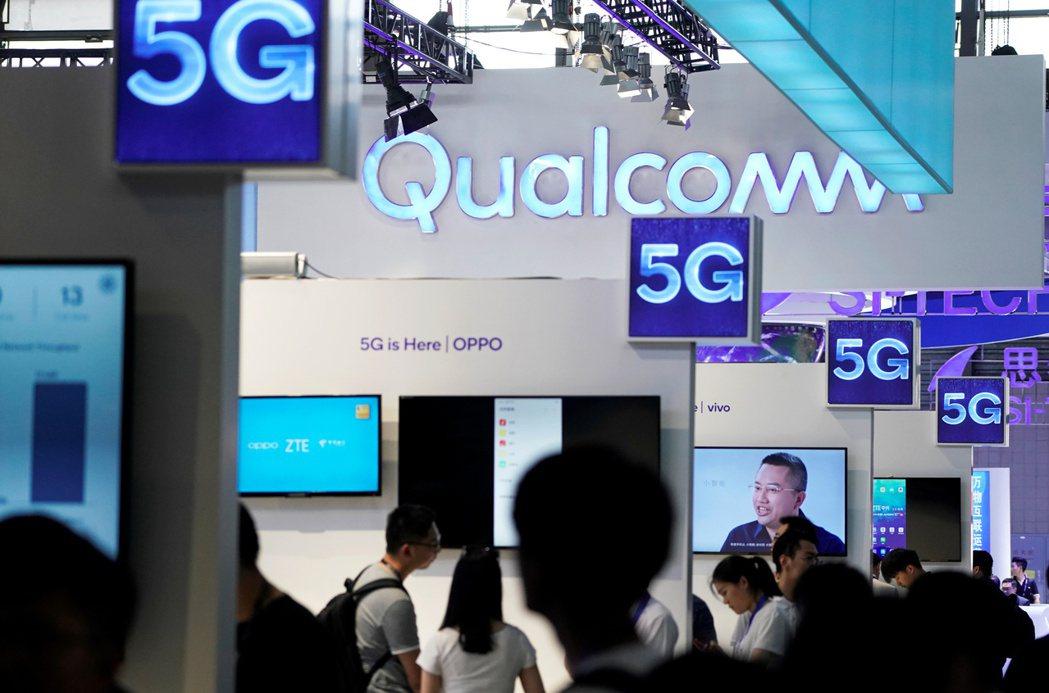 高通看好5G晶片需求。(路透)