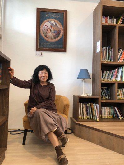 台中市退休教師劉正美說,她有如黏土,把團隊越黏越大,團結一起。 圖/劉正美 提供