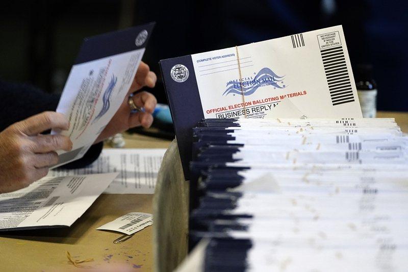 選前的一些討論,就有提到民調裡面有害羞的川普支持者,而且比例可能高達3%。 圖/美聯社
