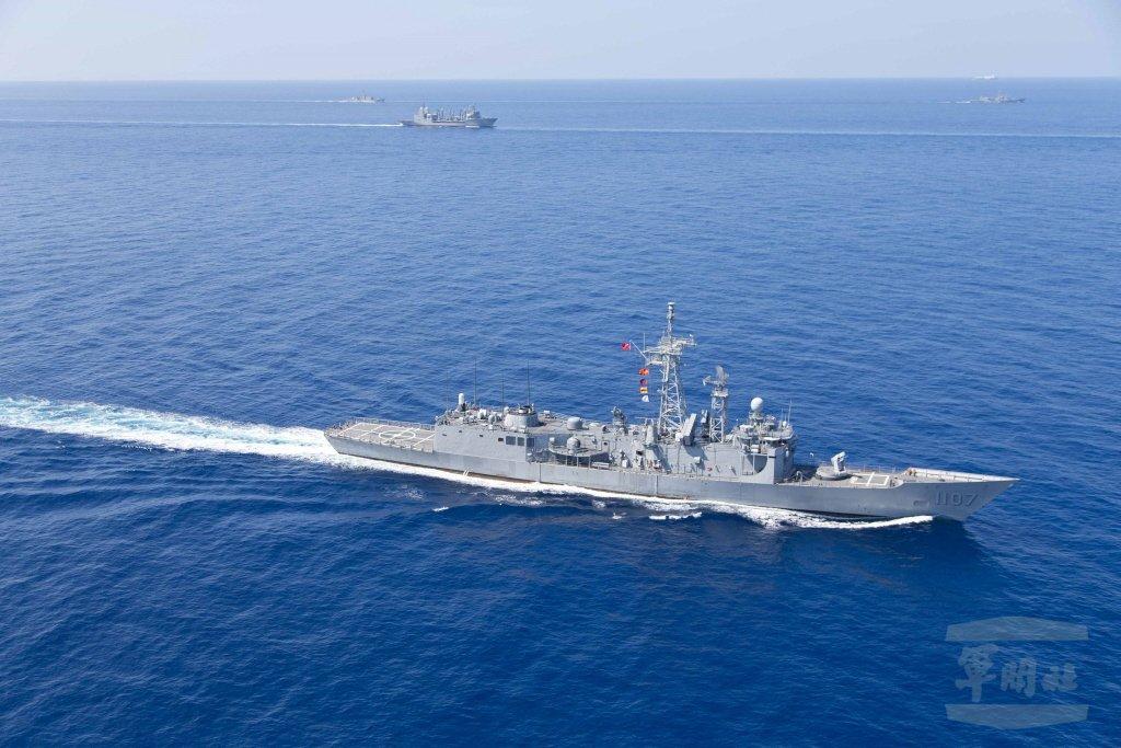 成功級巡防艦。 圖/軍聞社