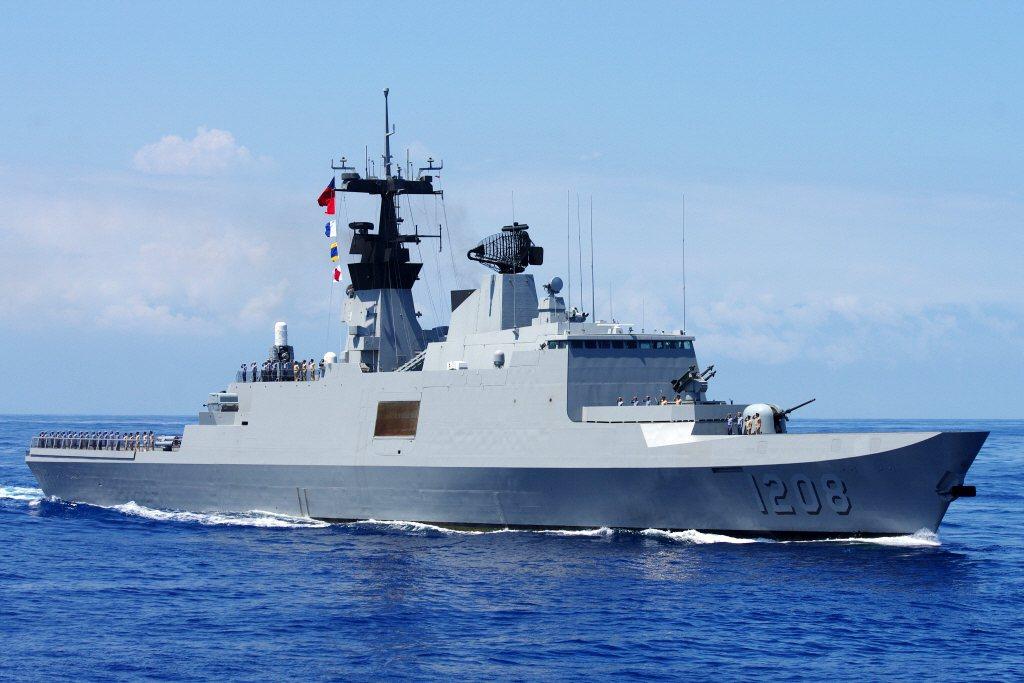 康定級巡防艦。 圖/聯合報系資料照