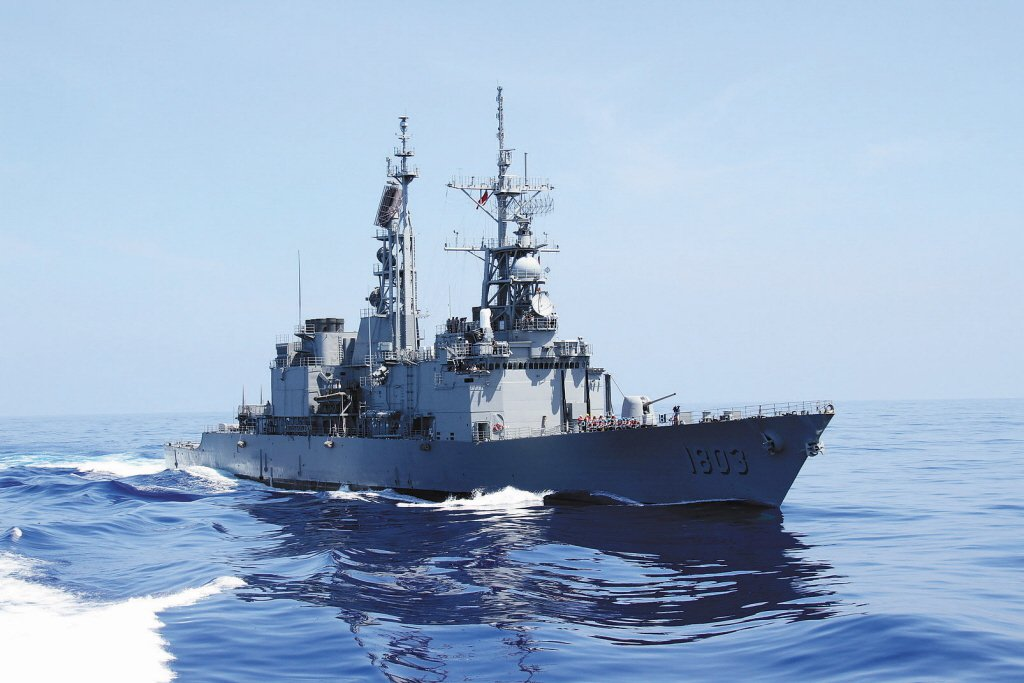 基隆級驅逐艦。 圖/聯合報系資料照