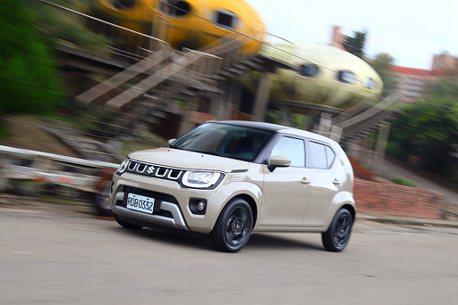 小改款Suzuki Ignis試駕!不只輕油電,還帶來更多進化