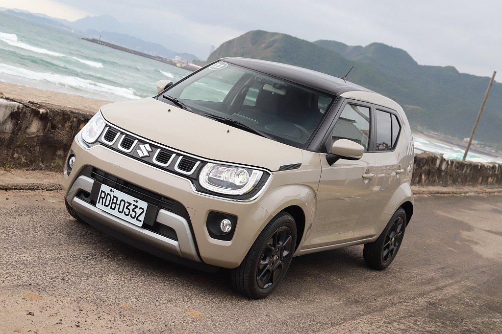 小改款Suzuki Ignis在台灣市場採單一車型銷售模式,建議售價為台幣68萬...