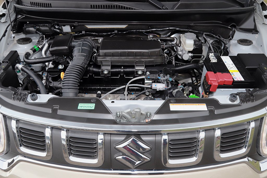 1.2L DUALJET自然進氣引擎可輸出83ps最大馬力、11.0kgm峰值扭...