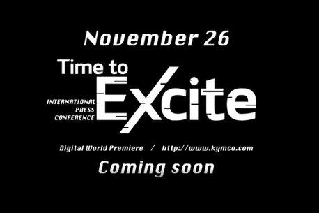影/KYMCO宣布11月26日舉辦國際規模的「Time to Excite熱血時刻」發表會