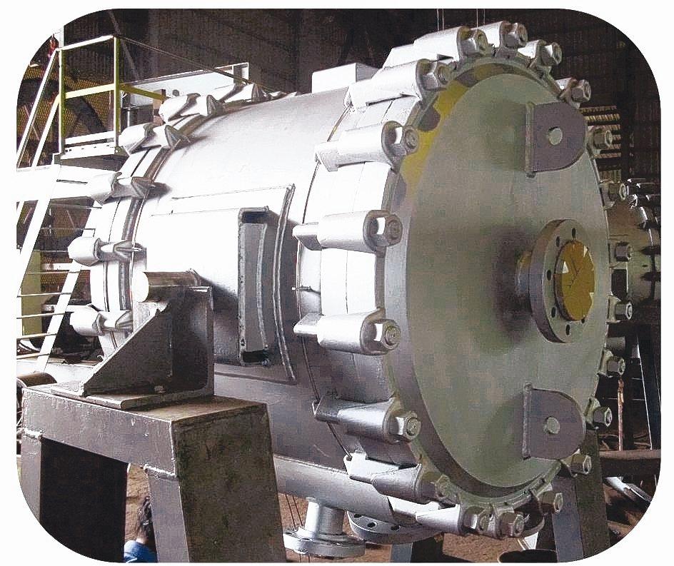 允升工業開發「螺旋式換熱器」具備純熟技術,並已累積超過200座的豐富經驗,可配合...