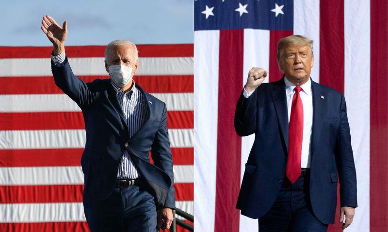 美國總統大選民主黨候選人拜登5日在喬治亞與賓夕法尼亞後來居上,可望獲得36張選舉人票,躍過270票的當選門檻,爭取連任的川普已不可能贏得當選所需的票數,揚言訴諸前途難料的法律訴訟。 法新社