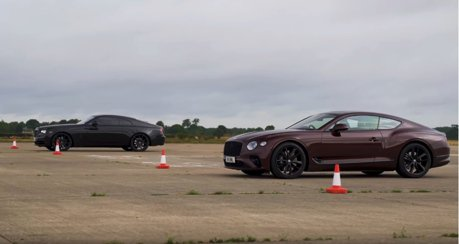 影/Rolls-Royce Wraith Vs. Bentley Continental GT !頂級旗艦雙門之戰