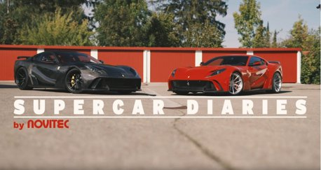影/Ferrari 812 Superfast還不夠快?試試Novitec套件!