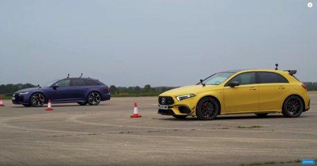 影/Mercedes-AMG A45 S竟敢挑戰Audi RS6 Avant!