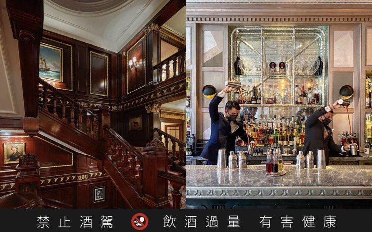 位於倫敦Connaught飯店內的Connaught Bar,拿下2020年世界...