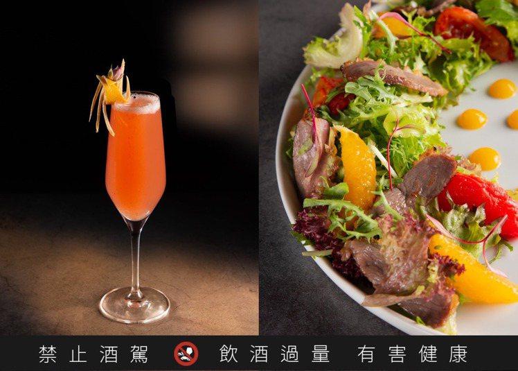 原本已是世界50大最佳酒吧的Indulge,餐食、酒水都各自風味、各擅勝場。圖 ...
