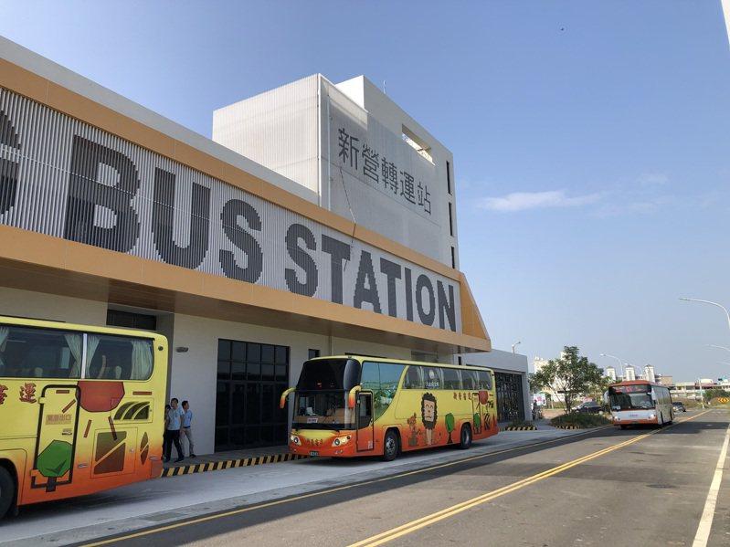 台南新營綜合轉運站進行壓力測試,預計12月25日試營運。圖/交通局提供