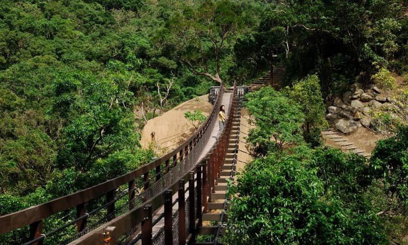 雙流國家森林遊樂區今休園。圖/取自林務局網站