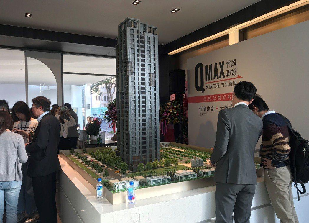 竹風真好QMAX。 記者游智文/攝影