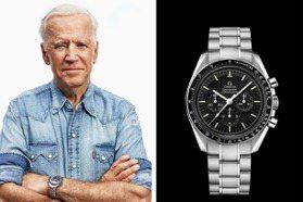 美國總統大選膠著中 先來看看川普和拜登手表戴哪款?
