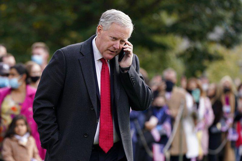 彭博新聞報導,白宮幕僚長梅杜斯確診新冠肺炎,他是繼美國總統川普夫婦、總統助手希克斯之後,染疫的高層官員。美聯社