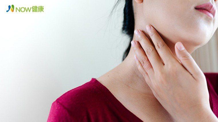 ▲甲狀腺癌在台灣10大癌症發生率位居第7名,其中女性發生的機率是男性的3倍。(圖...