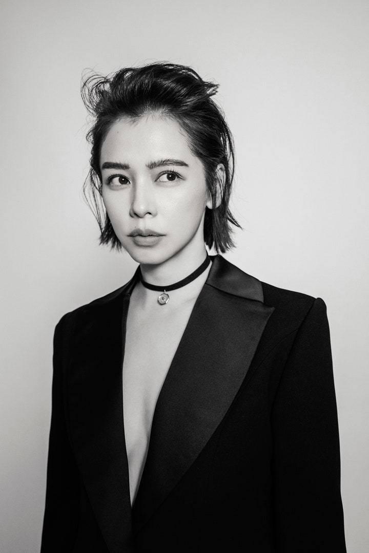 徐若瑄配戴的墜子來自台灣新銳設計師品牌STACIA JEWELRY。圖/取自IG...