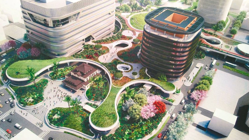 高雄車站百億新都心計畫,是高雄站前商圈的一大利多。(本報系資料庫)