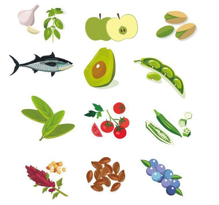 12種降低膽固醇的食物 圖/123RF