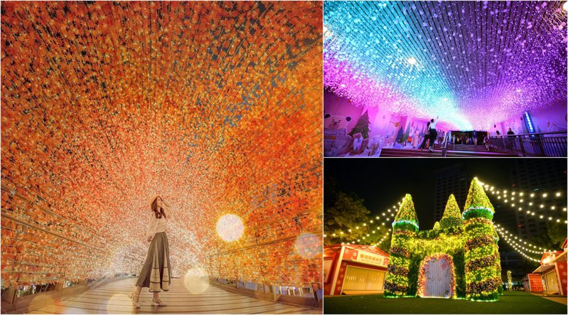 預計11/13正式開城的耶誕城日前宣佈將於11/11搶先點燈。圖/IG@cindy_xu3ejo3授權、新北市觀光旅遊局官方粉絲團