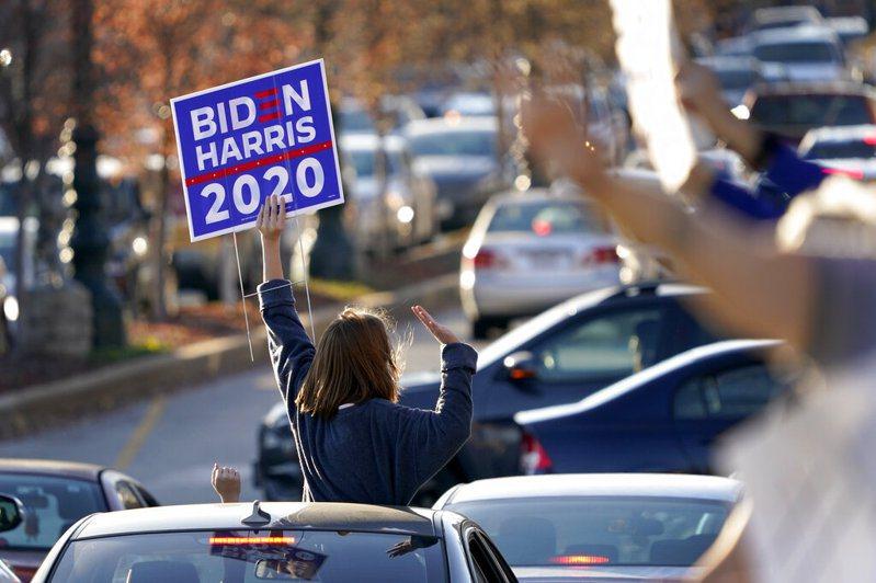 美國盟邦紛紛恭賀民主黨候選人拜登(Joe Biden)在美國總統大選中勝出。 圖/美聯社
