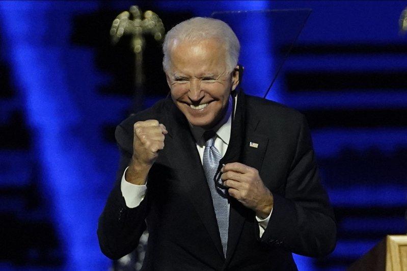 美國總統當選人拜登宣布勝選。 歐新社