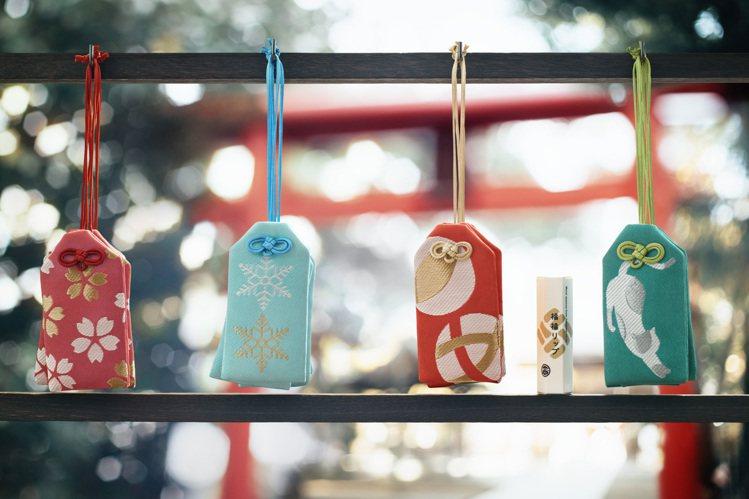 日本一心堂福福御守護唇膏(多款),售價490元/個。圖/台隆手創館提供