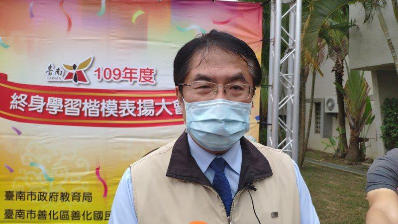 天團五月天要來台南開唱台南市長 黃偉哲說,市府將超前部署迎稀客。記者謝進盛/攝影