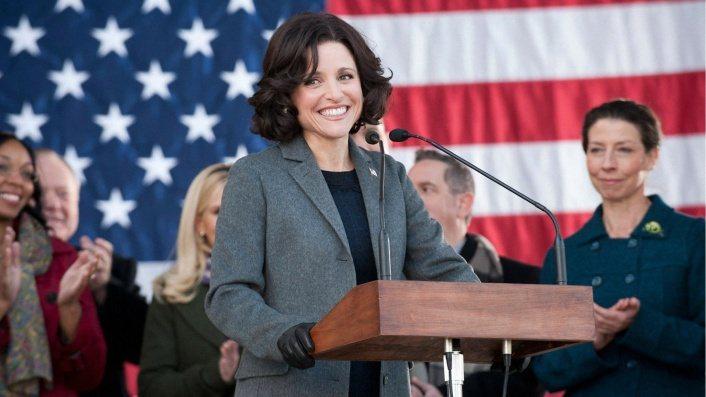 曾演過美國副總統的茱莉亞路易斯德瑞佛斯,表示女副總統不再是虛構。圖/摘自imdb