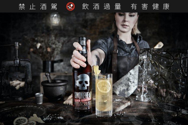 骷顱頭高壓電58單一麥芽蘇格蘭威士忌,以黑色為底搭配骷顱頭的標誌性設計,充滿自由...