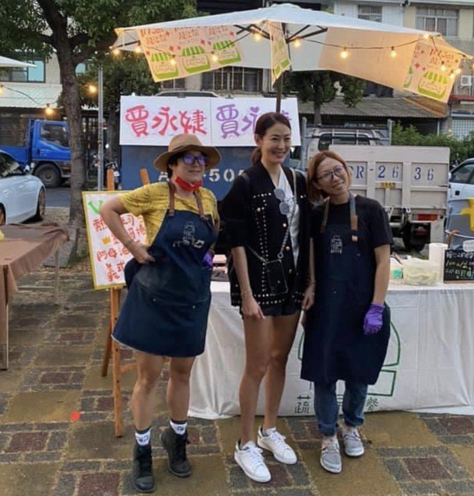 藝人賈永婕今天也帶著興奮的心情到田中展開她的吃美食馬拉松之旅,她笑說雖跑太慢沒吃...