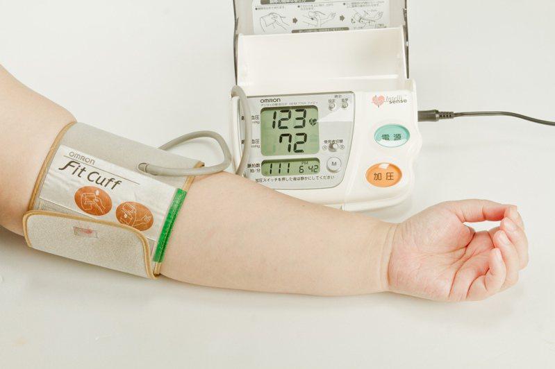 研究發現,收縮壓120-129mmHg的人,比起90-99mmHg的人,遇上心血管事故的可能性多了4.58倍。圖/聯合報系資料照片