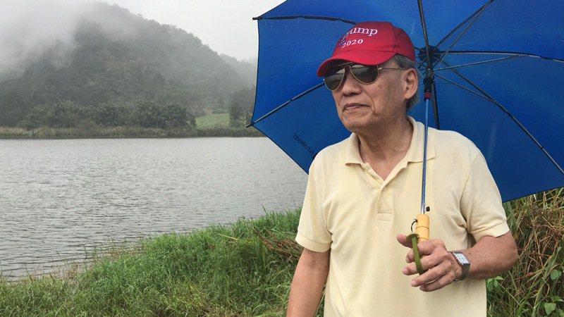 已76歲的王吉盛,頭髮都白了,再踏上雙連埤他曾經的家,回憶近30年來的愛恨情仇,言談中盡是不捨。記者吳淑君/攝影