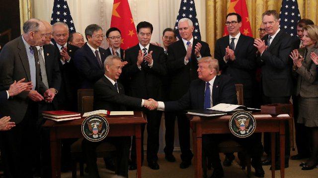 有業界人士表示,中美貿易談判和產業界可以為修復中美關係提供動力。(圖/取自新浪網)