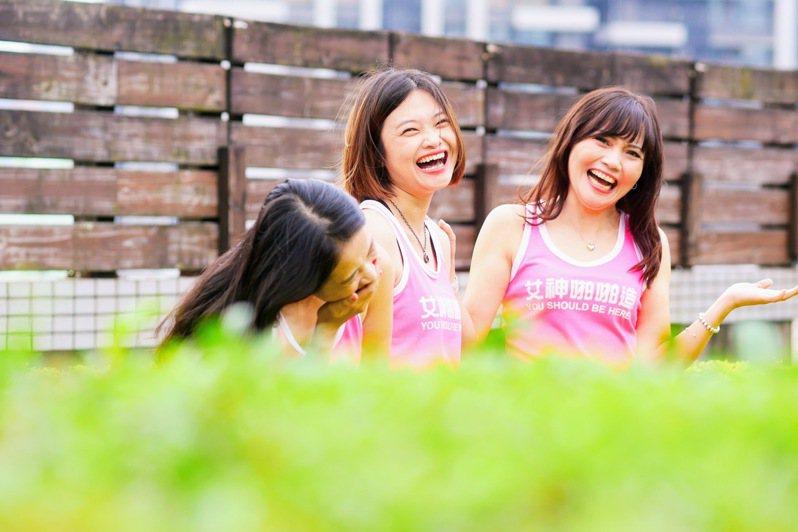 女性健身社群「有肌勵」和好姐妹#2021一起當女神活動,中獎者一次可得到價值一千元共兩件運動背心!圖由有肌勵提供