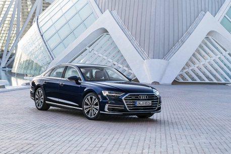新增汽油版短軸車型!2021年式Audi A8、A8L在台上市