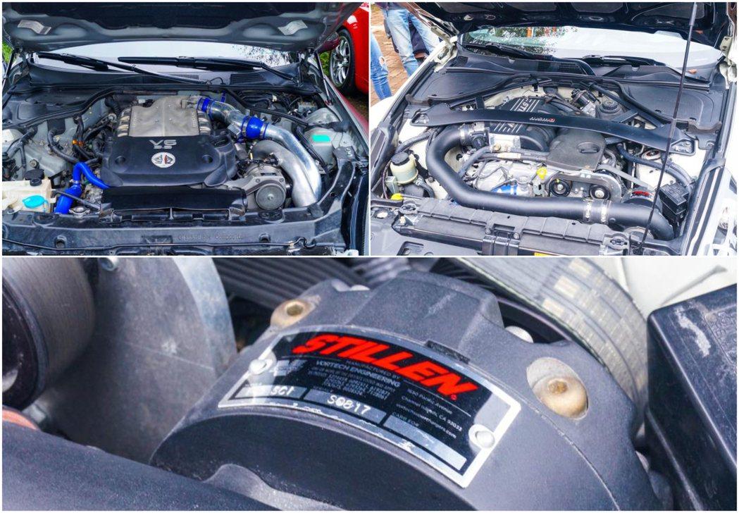 VQ引擎也能應對各種增壓形式,最常見的是STILLEN機械增壓套件。 記者趙駿宏...