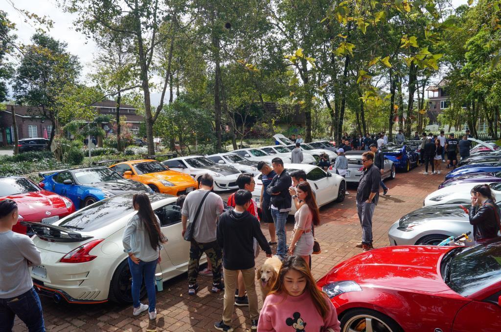 現場有近百,甚至破百的Z&G來參加車聚。 記者趙駿宏/攝影