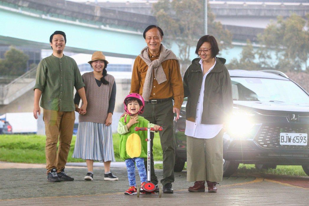 在疫情壟罩的2020年,家人一同開心出遊更顯難得。 記者葉信菉/攝影