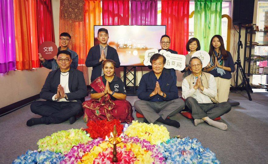 中華文化總會與臺灣吧攜手推出新一季新南向動畫「黑啤南亞飛」,9日舉行發布記者會,