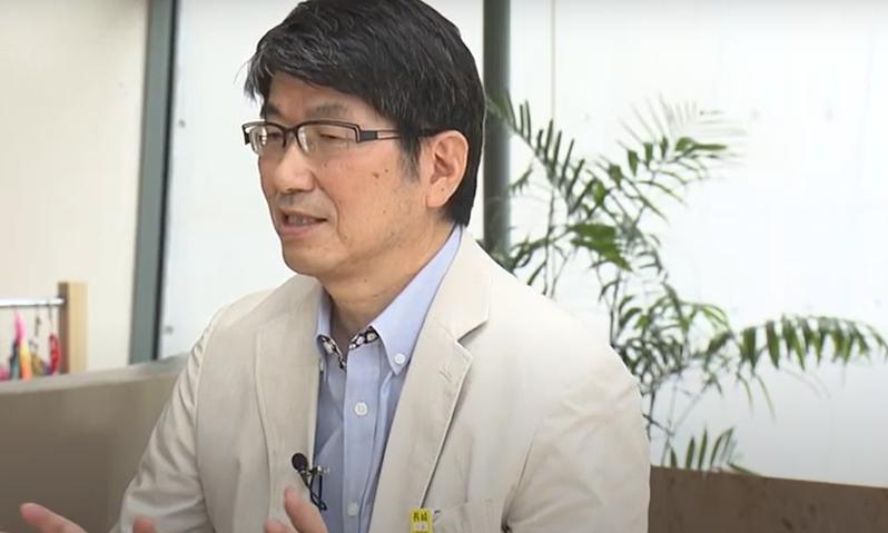 長崎市長田上富久表示「歡迎」拜登致力實現「無核武世界」的承諾,並希望他能實際到訪長崎市。(photo by YouTube Nagasaki University RECNA影片截圖)
