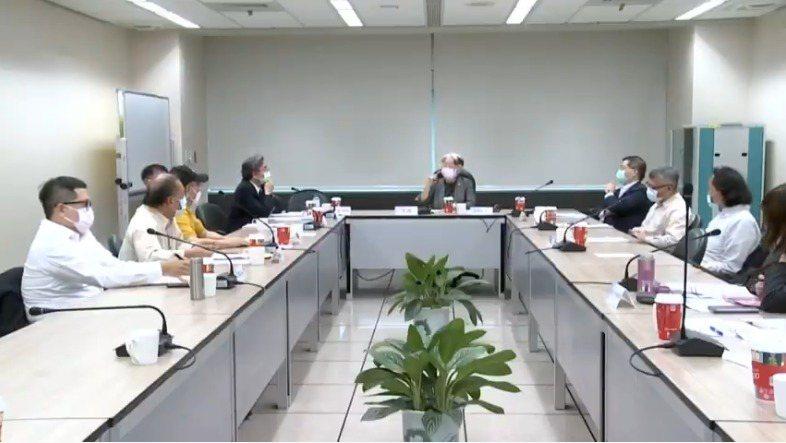 公視第七屆董監事審查會議。圖/翻攝文化部公視審查委員會直播