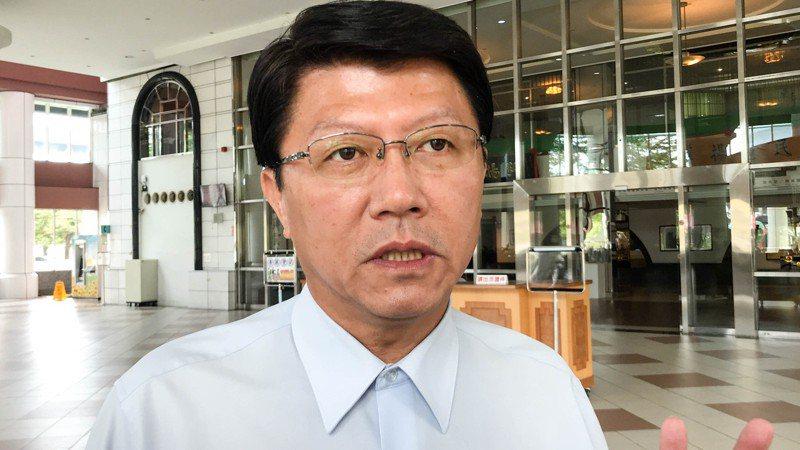 國民黨、民眾黨是否可能合作挑戰民進黨,讓台南變天?謝龍介表示,雖然言之過早,但跨黨合作不是不可能。圖/聯合報系資料照片