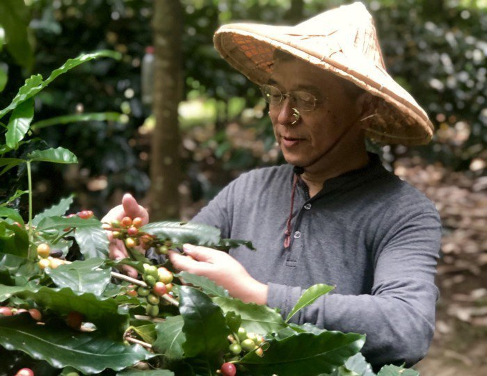 樹合苑創辦人陳孟凱先生提倡環境友善。  攝影/陳明萱