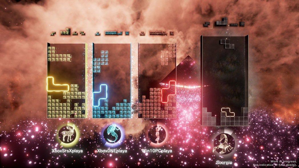 個人最想玩的首發作品之一《Tetris Effect: Connected》
