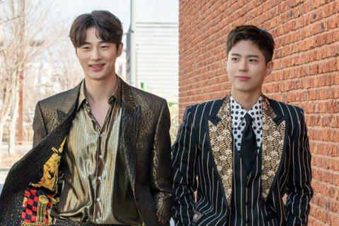 劇中袁楷效與史慧峻兩個角色,始終擺脫不了彼此之間的比較。 圖/取自tvN드라마