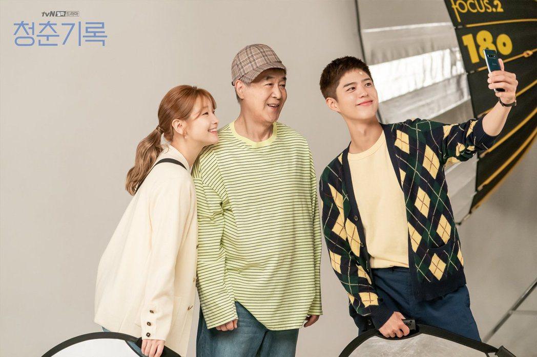 只要還有夢想去追,整個人生都會是部青春的紀錄。 圖/取自tvN드라마